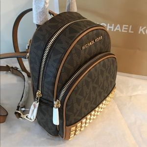 Michael Kors Abbey Xs Studded Backpack